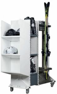 BUTLER I ( zásobník na lyže,snb a doplňky ) - 6 párů