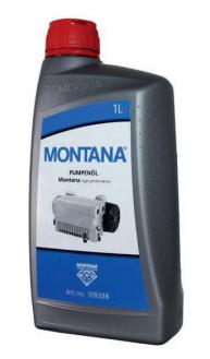 Olej pro vakuové pumpy Montana