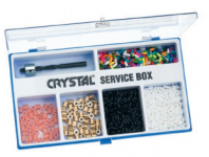 Crystal Service box ( sada na opravu lyží )