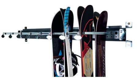 Snowboard panel Montana